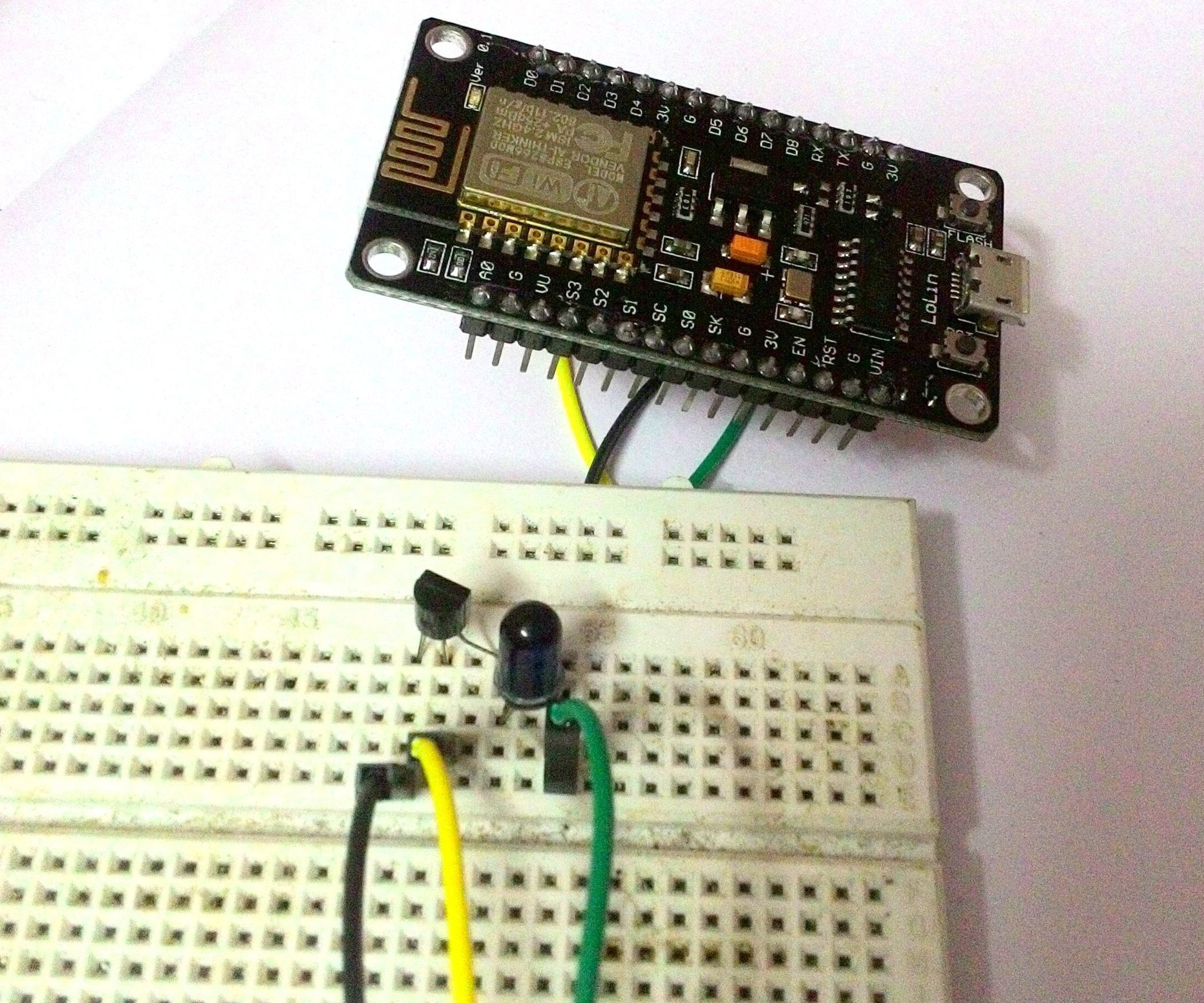 Universal Remote Using Esp8266wifi Controlled 6 Steps With Pictures Ir Appliance Switch Circuit Any Infra Red Control