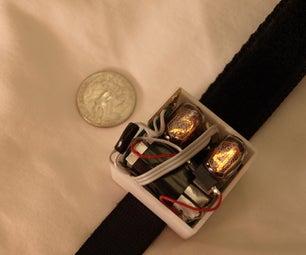 Simple Nixie Tube Wristwatch