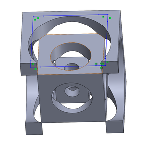 Finding the Diameter and Undercut of the Holes