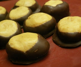 Peanut Butter Chocolate Buckeyes