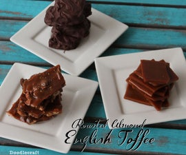 Roasted Almond English Toffee!
