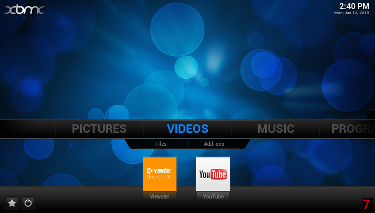 Picture of Add an Addon Shortcut to Your Home Screen.