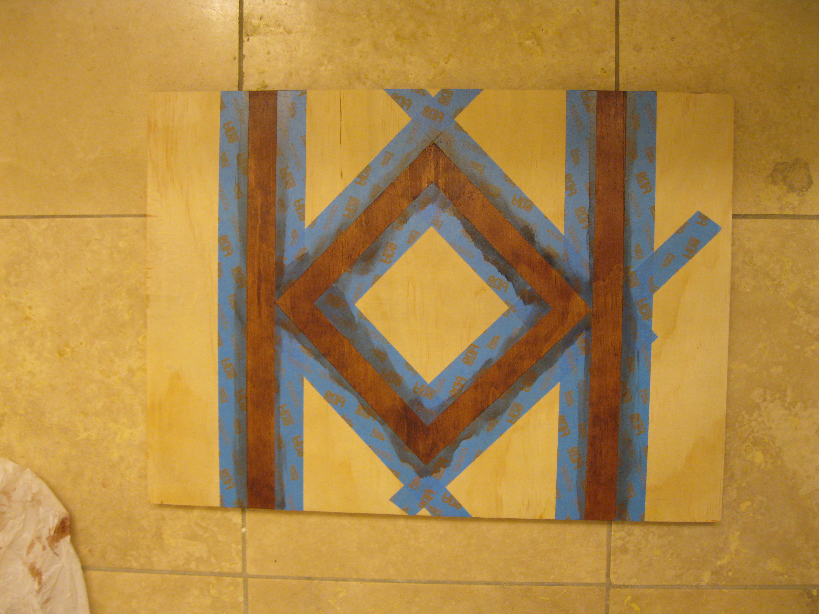 Picture of Staining and Decorative Motifs
