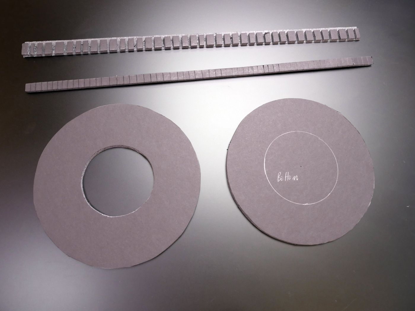 Cut Frame Pieces