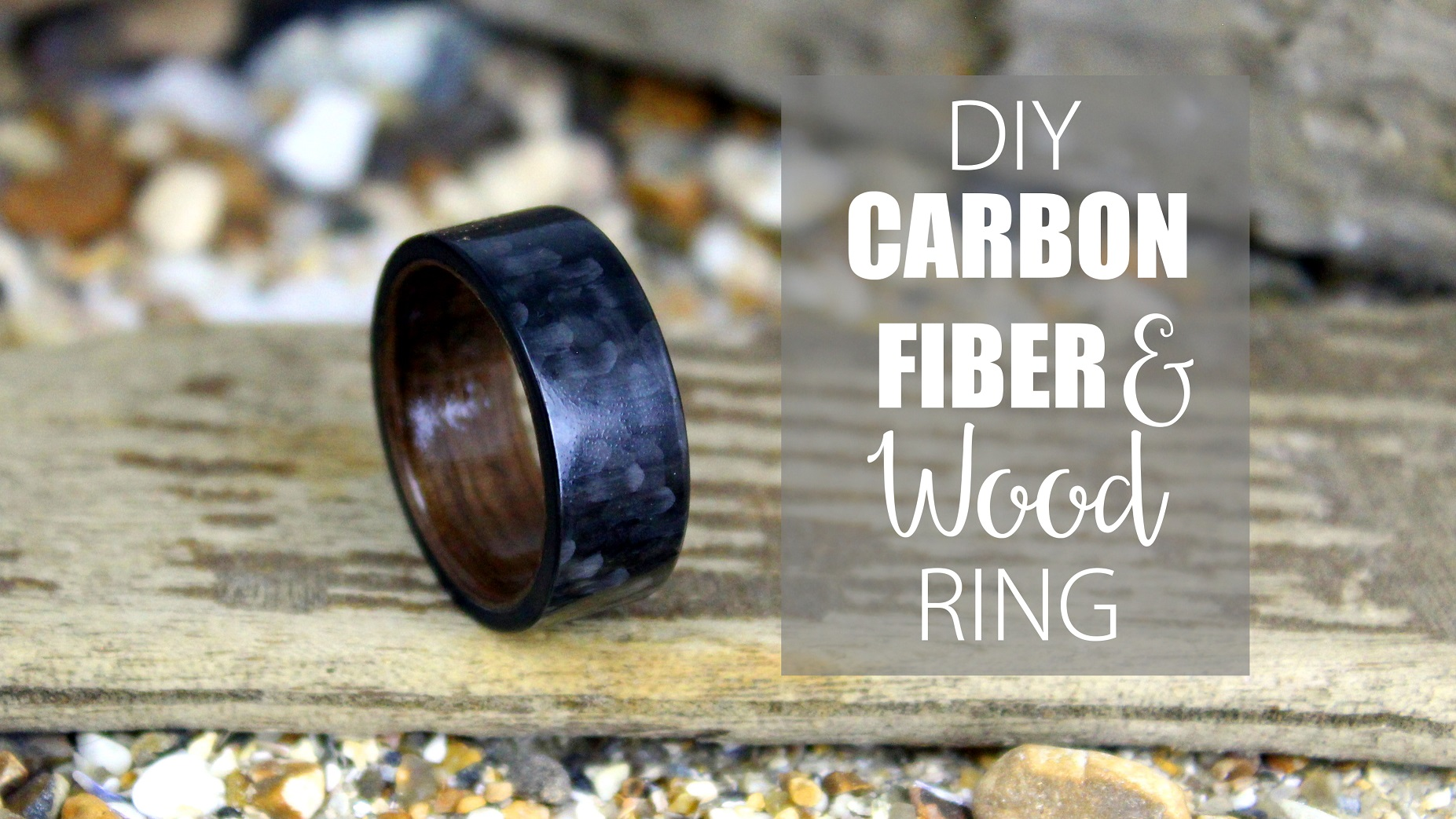 Picture of DIY Carbon Fiber and Wood Ring