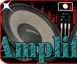 Audio Amplifier Circuit Using Mosfet Transistor