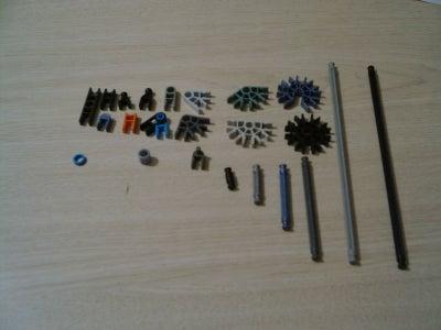 Gather These Parts (part List)