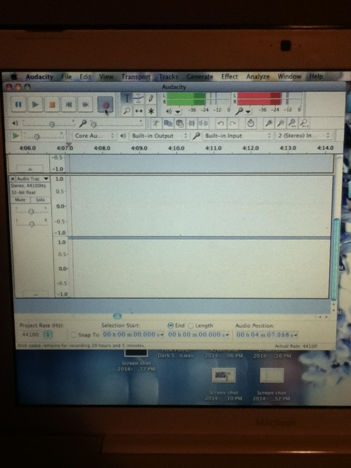 Picture of Set Up an Audio Recording Software