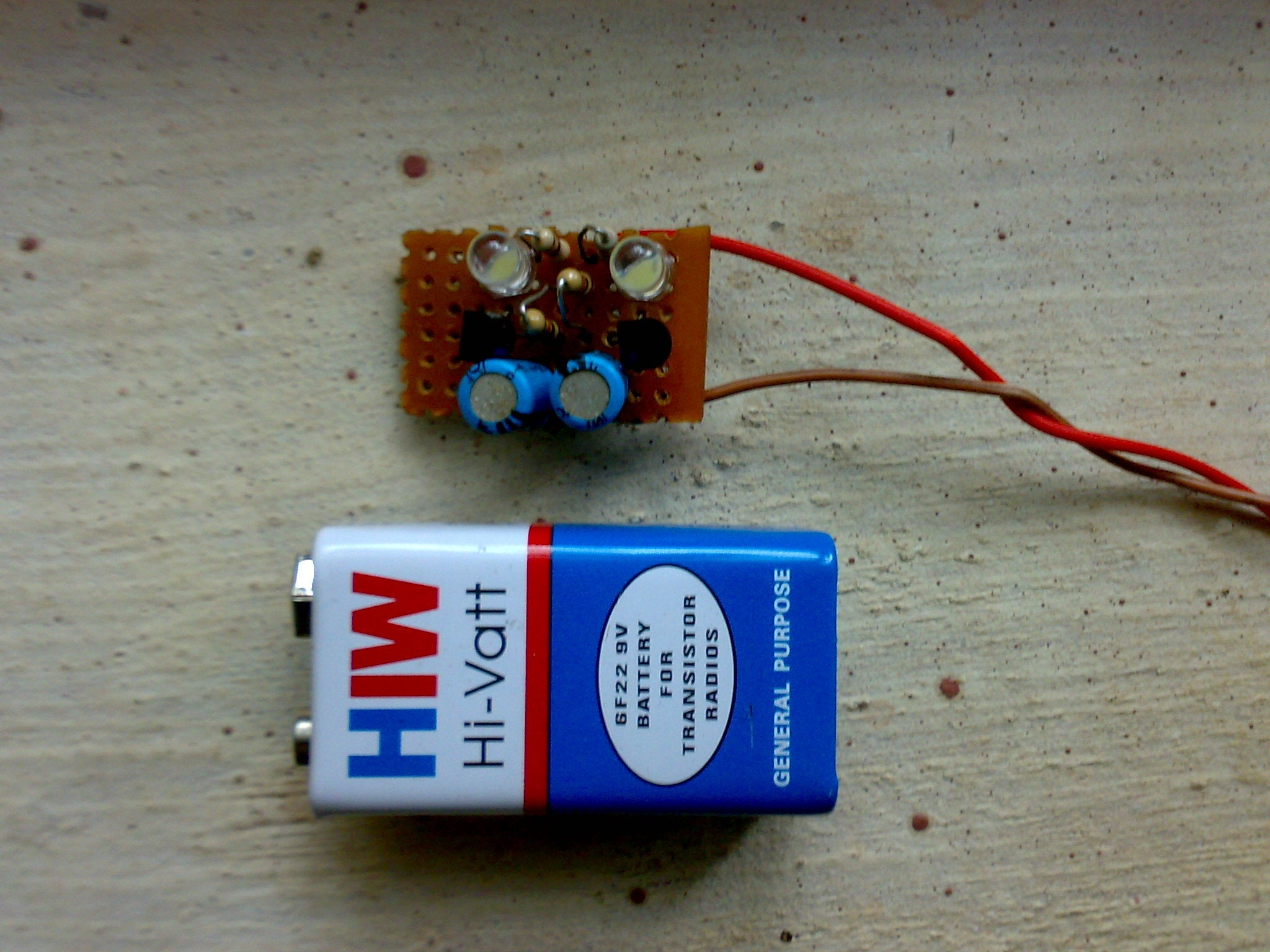 Flip Flop Led Circuit 3 Steps With Pictures One Transistor Flasher Diagram