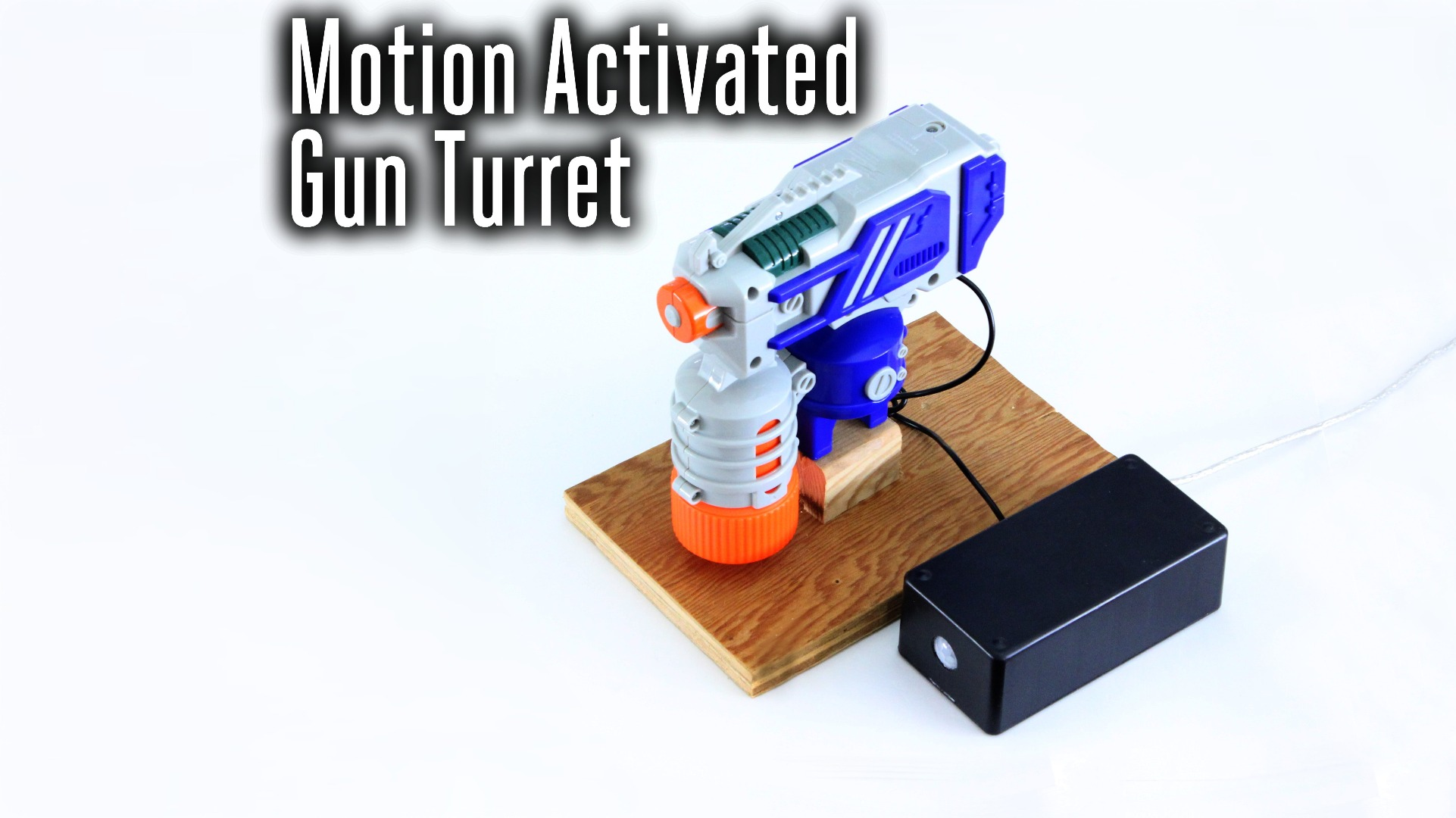 Picture of Motion Activated Gun Turret