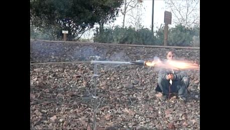 Rocket Propelled Centrifuge