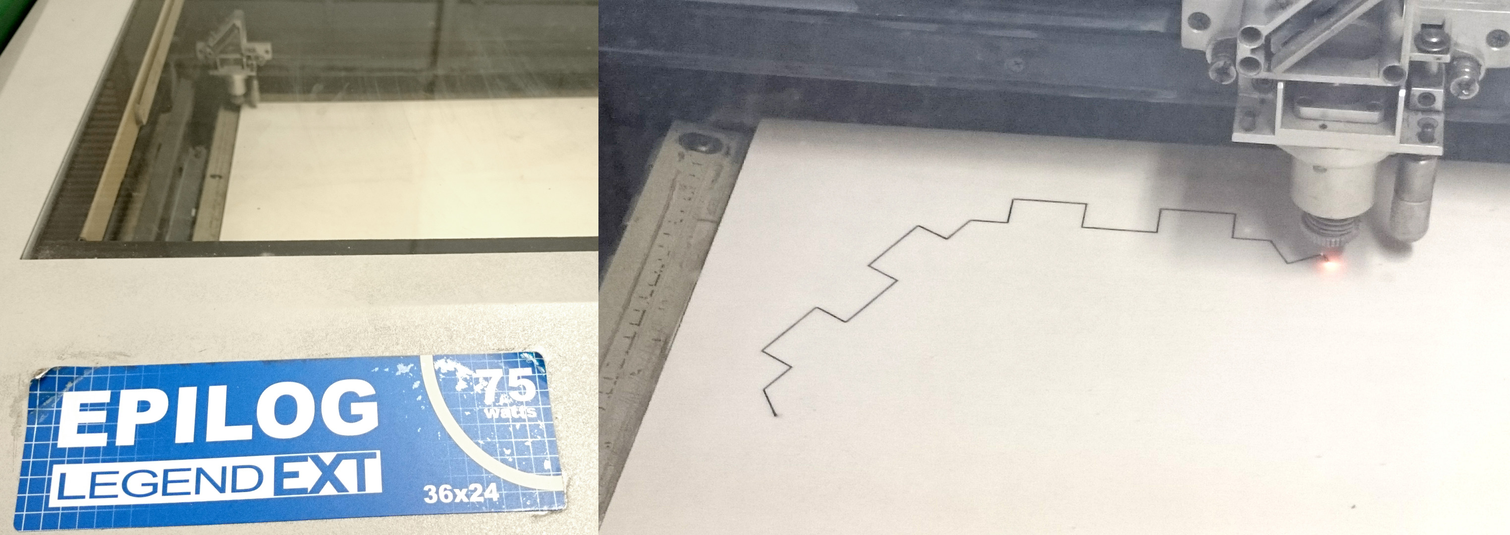 Picture of Using the Laser Cutter