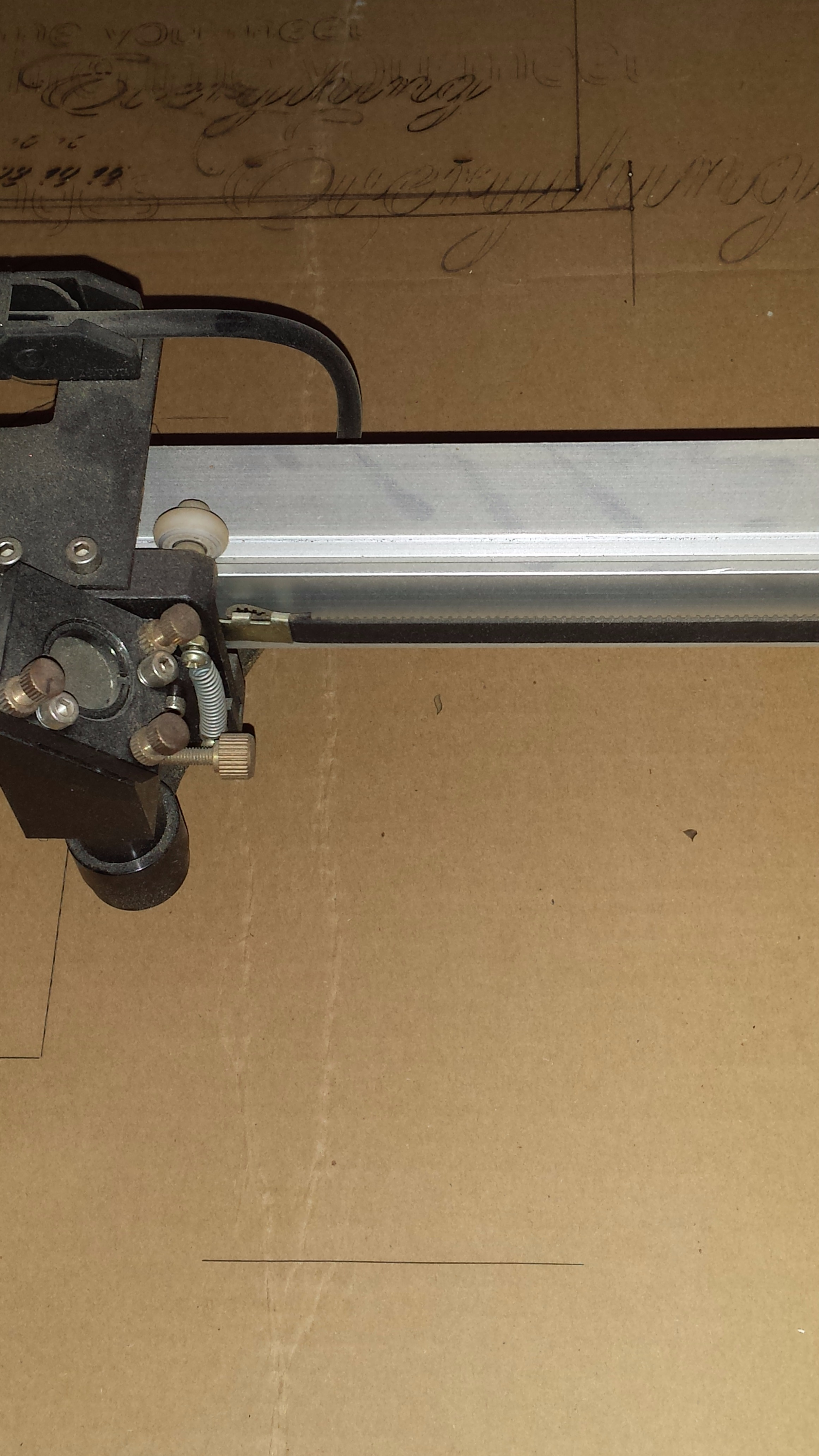 Picture of Cardboard Uses in My Workshop -- Laser Engraving