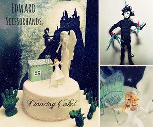 DANCING Cake! Edward Scissorhands ANIMATED Cake!