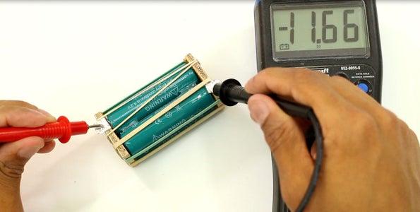 Making the Battery Holder