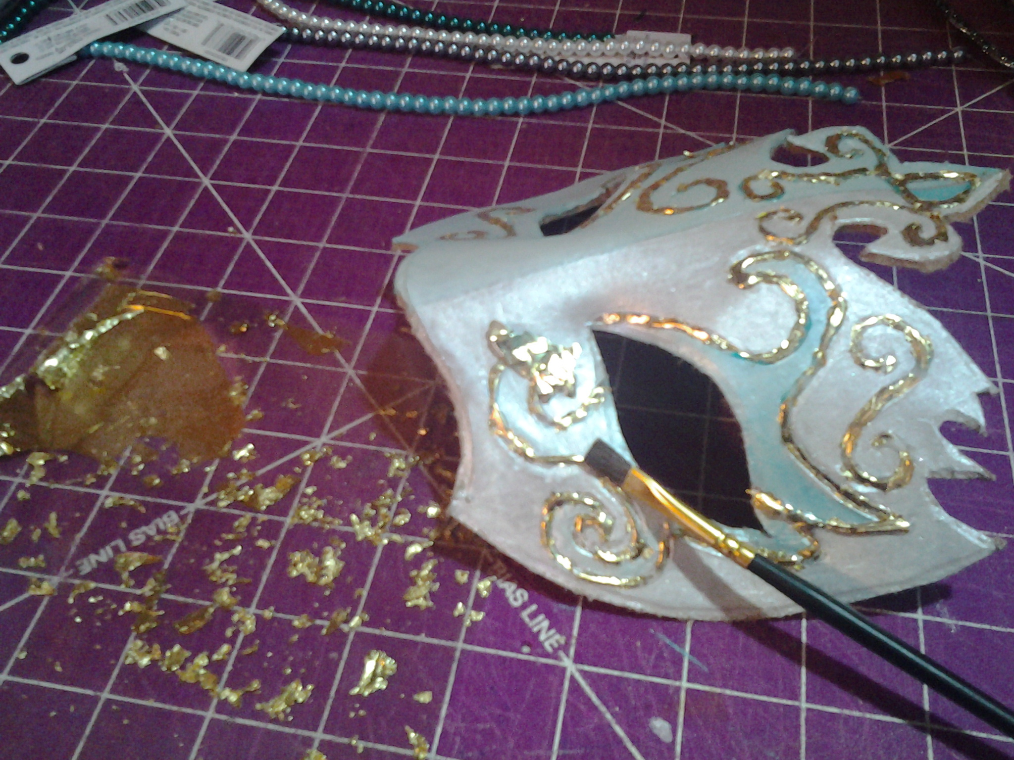 Picture of Adding Gold Leaf