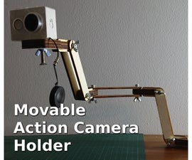 Movable Action Camera Holder