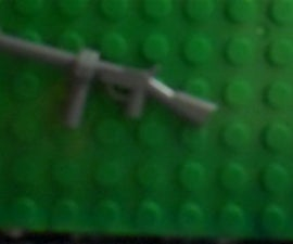 How to Make a Lego M1 Thompson