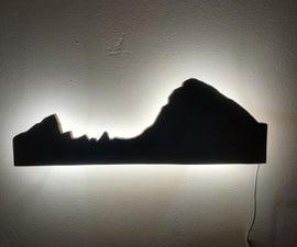 Decorative Mountain Light