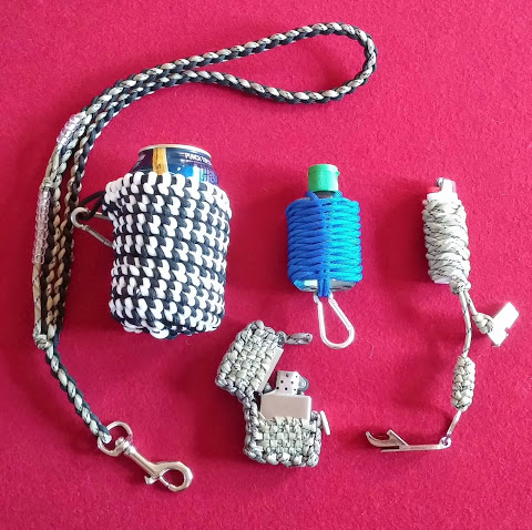 Picture of The Redneck Collection: Paracord Improved Camping Supplies