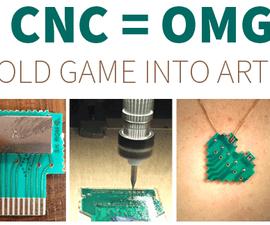 PCB + CNC = OMG