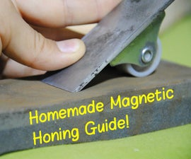 How to Make a Magnetic Honing Guide (For Sharpening Chisels & Hand Planes) | DIY Woodworking Tools #5