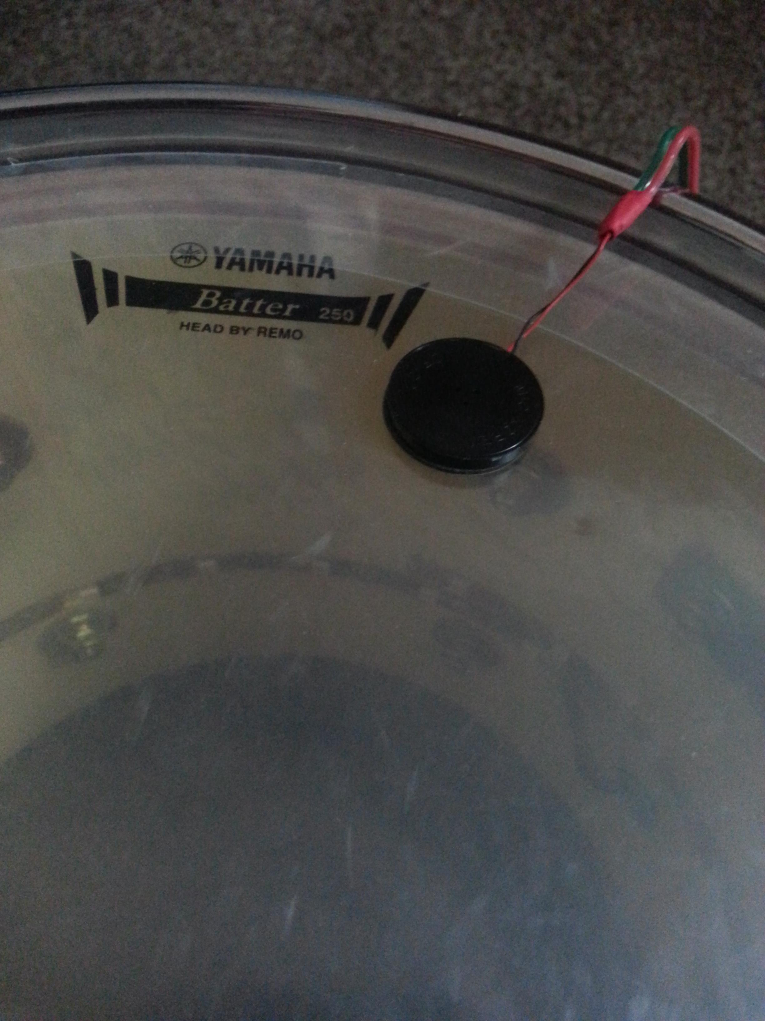 Picture of Drum Trigger (Piezo Element)
