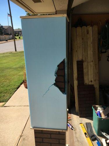 Picture of Adding Styrofoam Sheathing