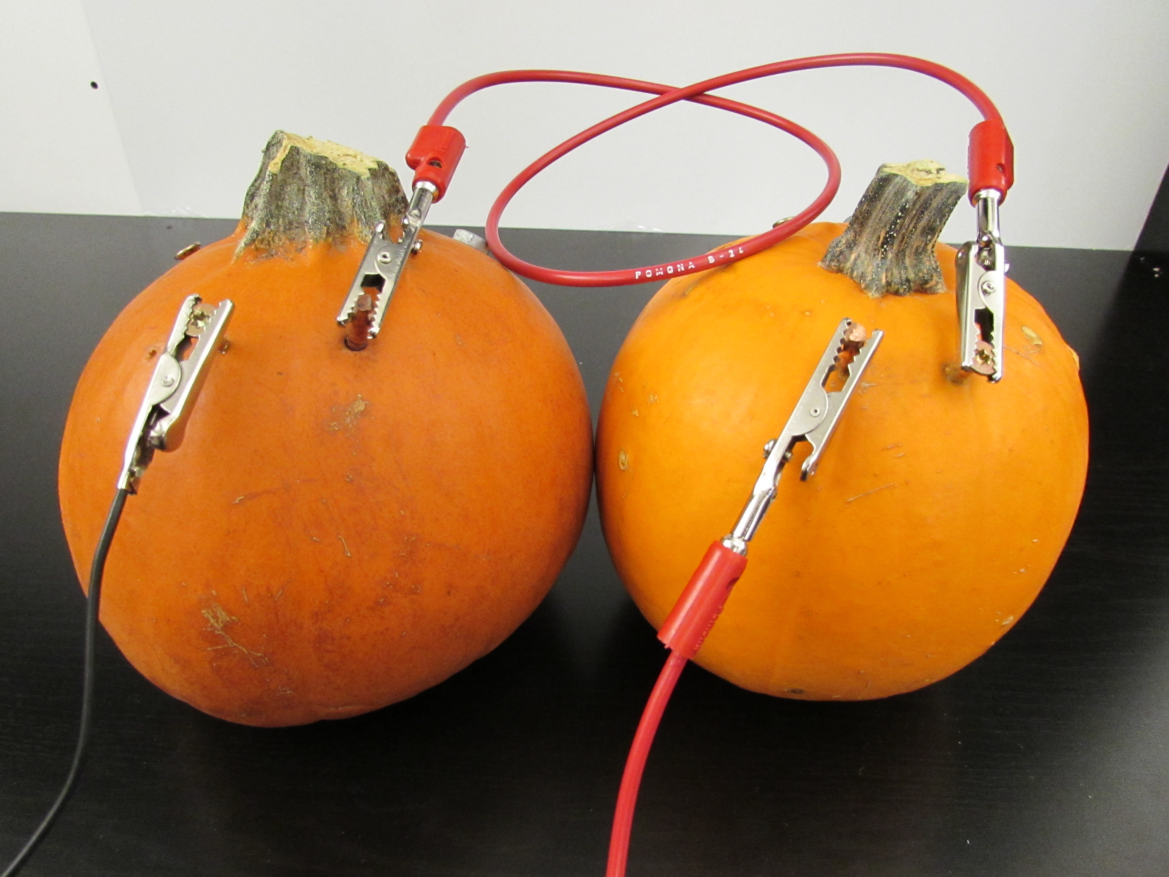 Picture of Connect Power Wires to the Pumpkins