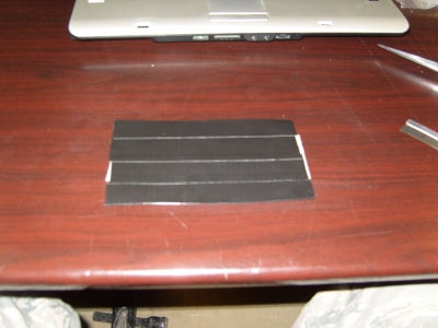 Getting Started Step 1: Tape Sheets