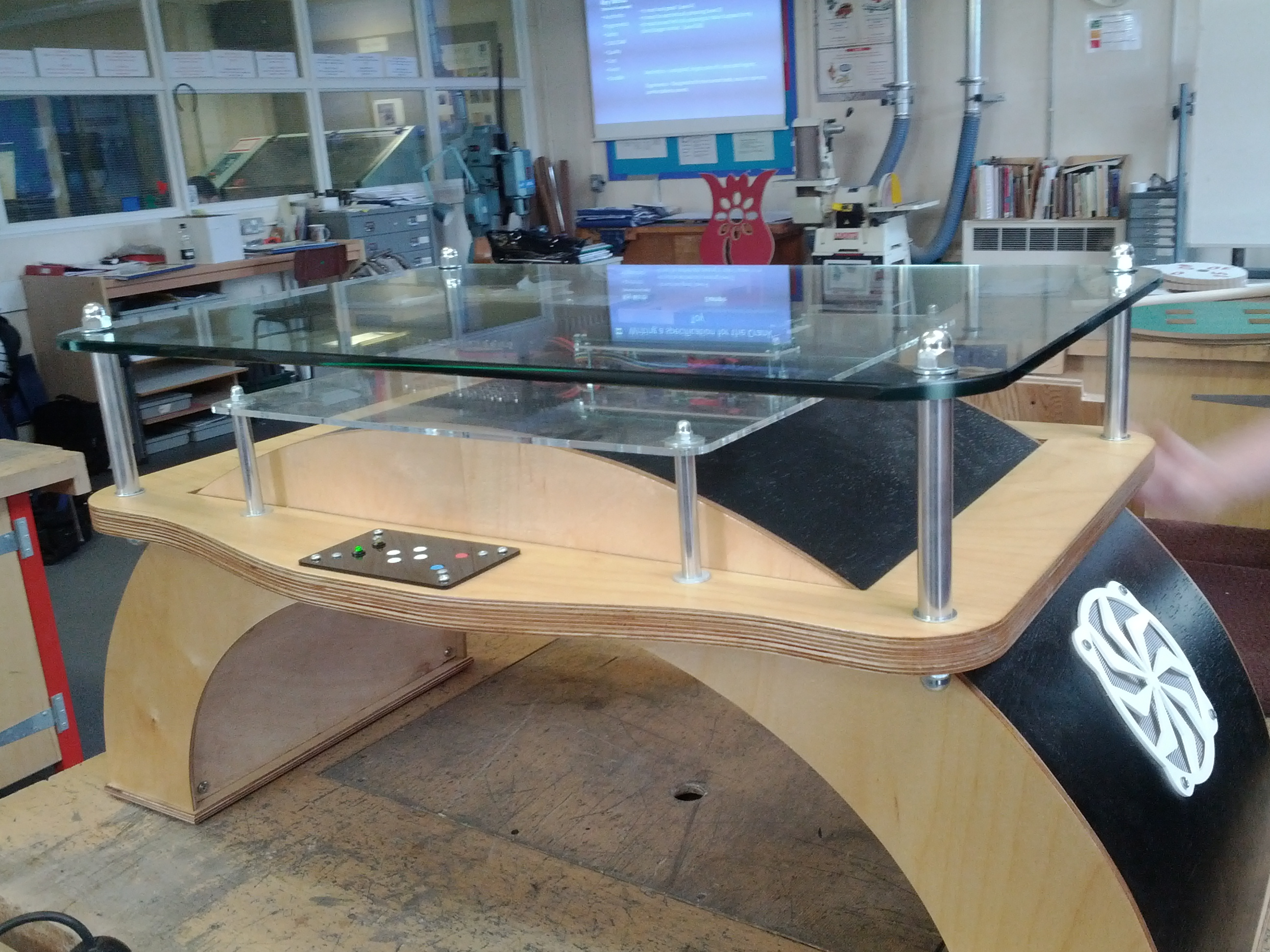Interactive Coffee Table Diy Table Projects