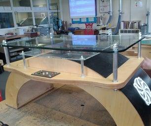 Interactive Arduino Powered Coffee Table