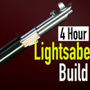 "Make a ""Metal"" Lightsaber From Plastic and Tape!"
