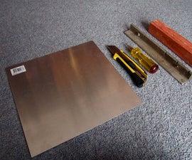 How to Cut & Fold Sheet Aluminium