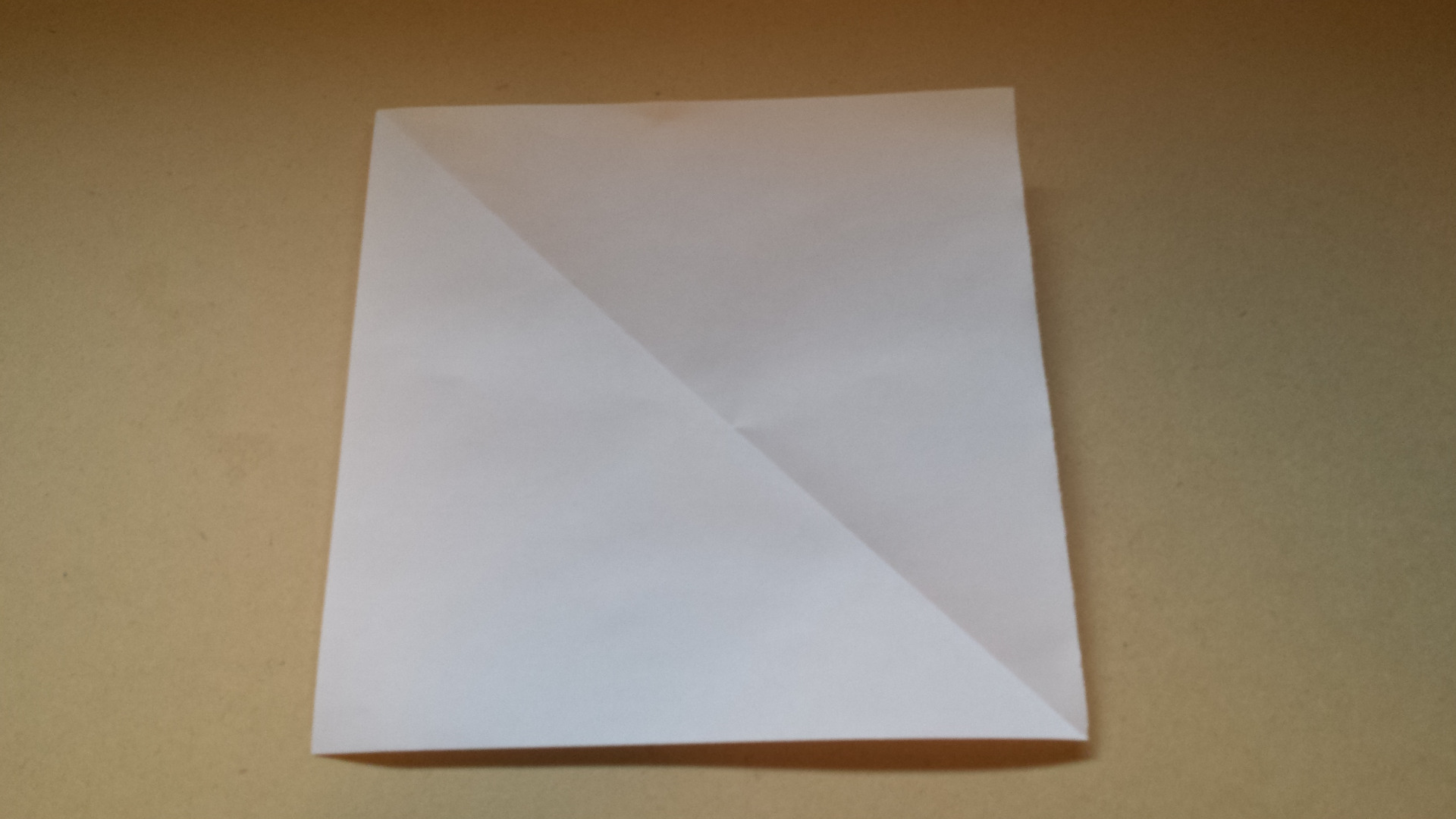 Picture of Rip or Cut Excess Rectangle Strip by Using the Fold As a Guide