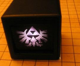 Shrinky dink light box