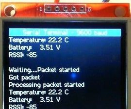 "Arduino serial UART scrolling display terminal using a 2.2"" TFT"