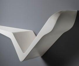DIY Modern Design Shelf