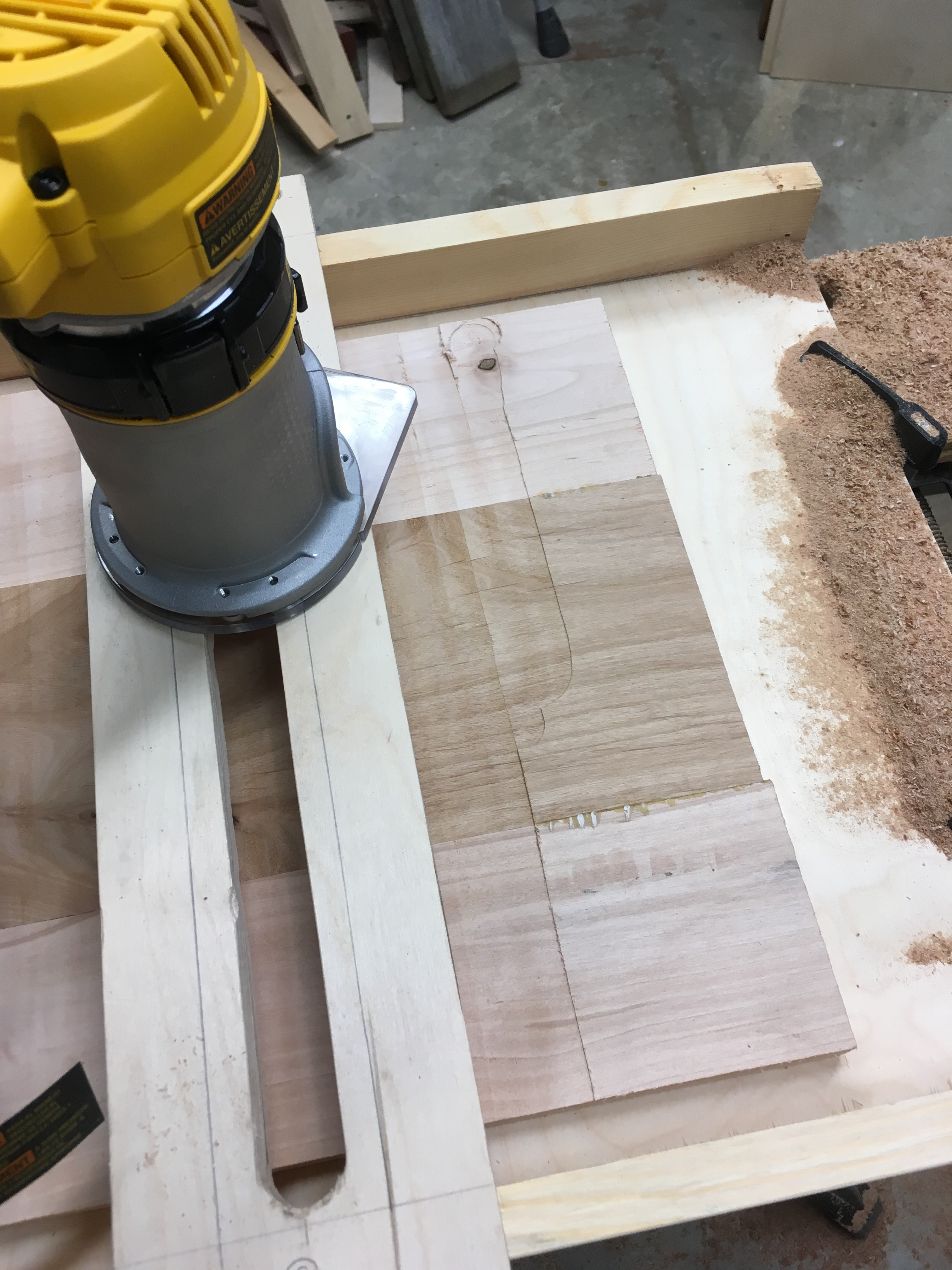 Picture of Planing the Wood