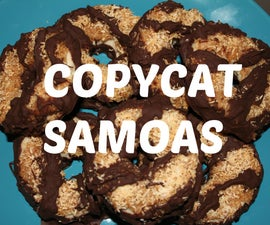 Copycat Girlscout Samoas!