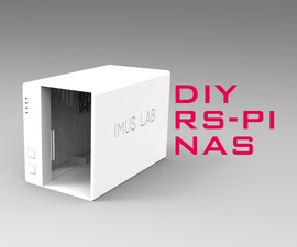 A Raspberry Pi NAS That Really Look Like a NAS