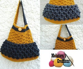 Scale and Shell Bag – Free Crochet Pattern & Video Tutorials