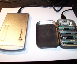Build a 4 x AA USB Altoids Battery