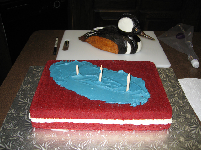 Picture of Assembling and Icing the Cake
