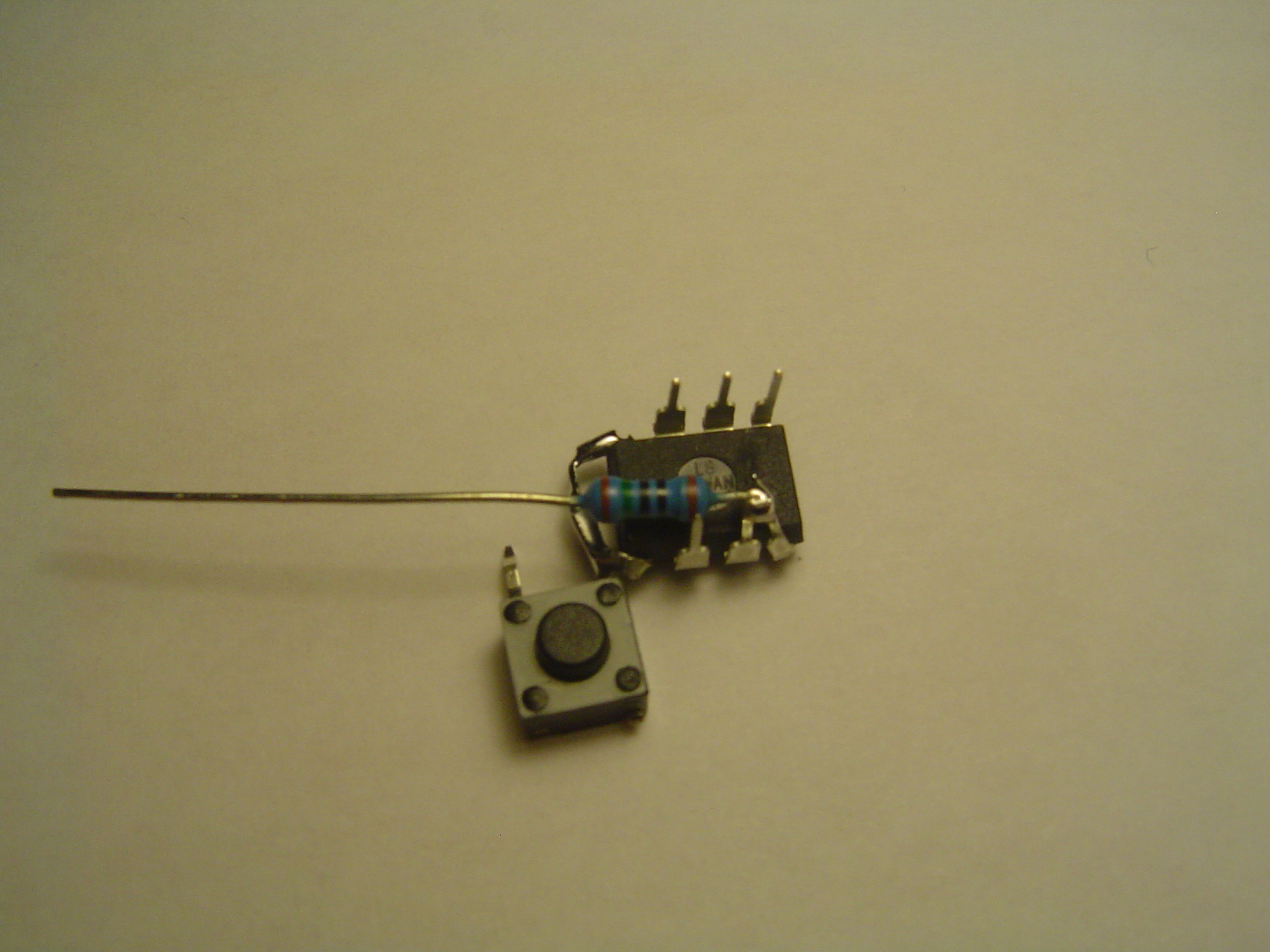 Picture of Add the Resistor