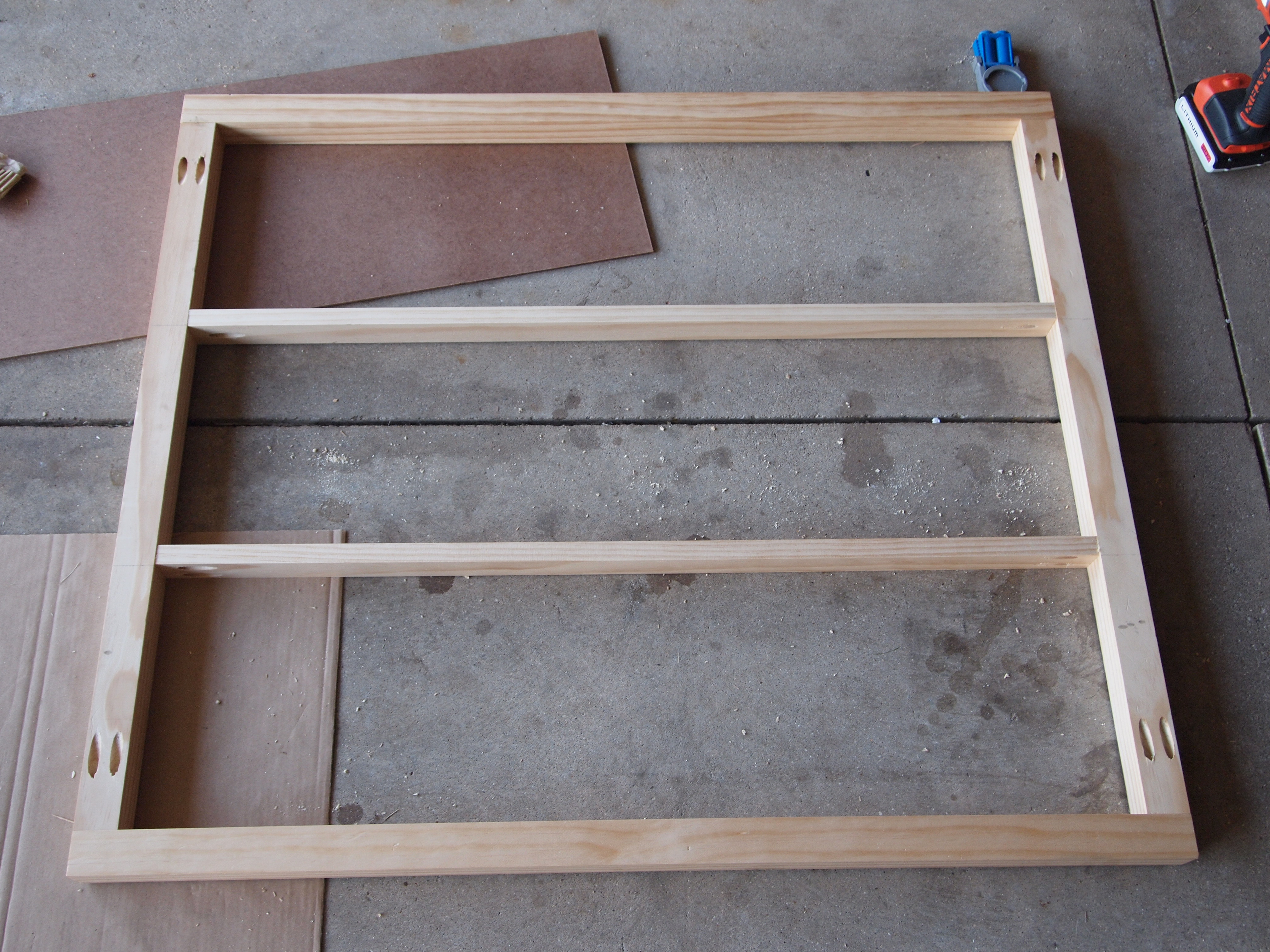 """Picture of Building the 2"""" X 2"""" Frame"""