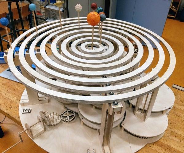 How to Build a Precise Mechanical Planetarium