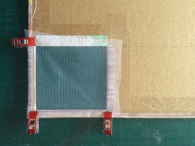 Attaching the Netting