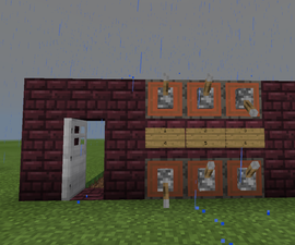 How to Make A Simple Passcode Door in Minecraft