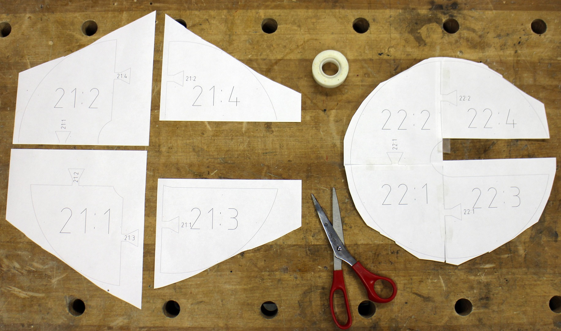 Picture of Cut Templates